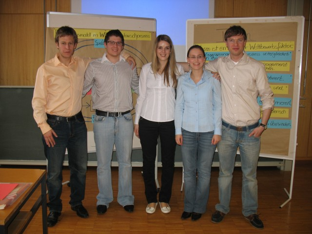 Seminar on Organizational Development 2008 Pforzheim University - Team